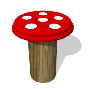 Red Toadstool Top