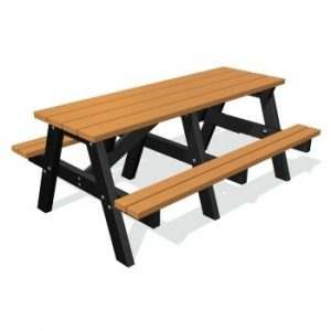 1800 A-Frame Recycled Plastic Picnic Table