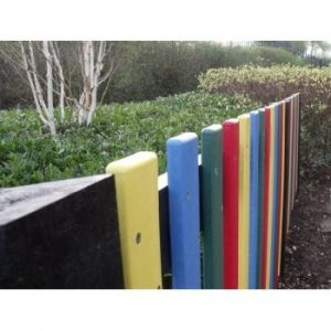 100% Recycled Plastic Fencing System