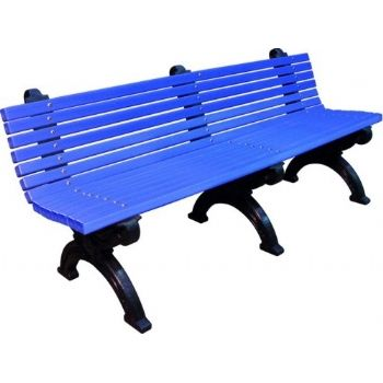 Blue Winterslow 1800 Bench