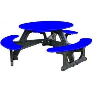 Blue Clarendon Picnic Table