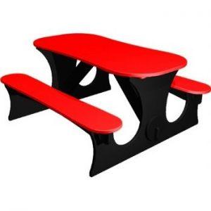 Red Stratford Picnic Table