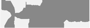 the plastic company logo white