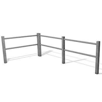 Paddock Fence Rail System